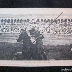 Tauromaquia: CORRIDA DE TOROS-SUERTE DE VARA-STENGEL & CO 1904-POSTAL ANTIGUA-(80.568). Lote 262628675