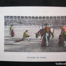 Tauromaquia: CORRIDA DE TOROS-ANDRES FABERT EDITOR-POSTAL ANTIGUA-(80.570). Lote 262628875