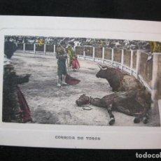 Tauromaquia: CORRIDA DE TOROS-ANDRES FABERT EDITOR-POSTAL ANTIGUA-(80.572). Lote 262629045