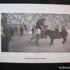 Tauromaquia: CORRIDA DE TOROS-ANDRES FABERT EDITOR-POSTAL ANTIGUA-(80.573). Lote 262629115