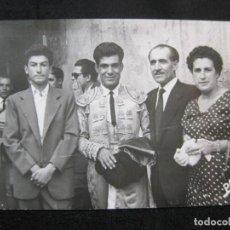 Tauromaquia: CORRIDA DE TOROS-TORERO-FOTOGRAFO J.PARRA, BARCELONA-FOTOGRAFIA ANTIGUA-(80.575). Lote 262629330