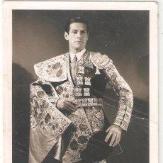 Tauromaquia: AUTÓGRAFO DE MARIO CABRÉ.TORERO, ACTOR Y PRESENTADOR DE TELEVISIÓN (BARCELONA,1916). Lote 263581490