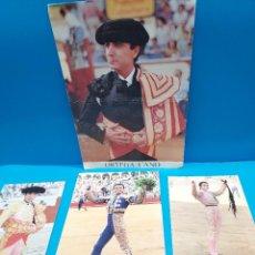 Tauromaquia: TAUROMAQUIA..4 FOTO- CARTEL DEL MATADOR DE TOROS...JOSE ORTEGA CANO..... Lote 269284873
