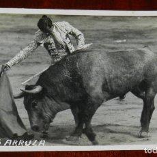 Tauromaquia: FOTO POSTAL DEL TORERO CARLOS ARRUZA, FOTO ORDUÑA, NO CIRCULADA.. Lote 269336238