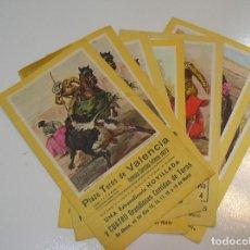 Tauromaquia: TOROS MUNDO TAURINO PLAZA DE TOROS DE VALENCIA 6 PROGRAMAS CORRIDAS FALLERAS AÑOS 72,73,74,76..... Lote 270200523