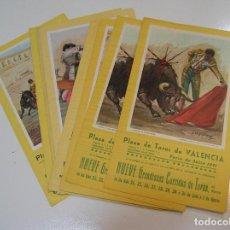 Tauromaquia: TOROS MUNDO TAURINO PLAZA DE TOROS DE VALENCIA 12 PROGRAMAS FERIAS JULIO 72,73,74.......... Lote 270203303