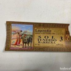 Tauromaquia: ENTRADA DE TOROS. PLAZA DE TOROS DE LOGROÑO. SEPTIEMBRE DE 1998.VER FOTOS. Lote 271539288