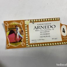 Tauromaquia: ENTRADA DE TOROS. PLAZA DE TOROS DE ARNEDO - LA RIOJA. SEPTIEMBRE DE 1998. VER FOTOS. Lote 271539418