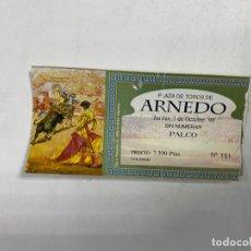 Tauromaquia: ENTRADA DE TOROS. PLAZA DE TOROS DE ARNEDO - LA RIOJA. OCTUBRE DE 1998. VER FOTOS. Lote 271539643