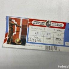 Tauromaquia: ENTRADA DE TOROS. PLAZA DE TOROS DE VISTA ALEGRE - MADRID. JUNIO DE 2000. VER FOTOS. Lote 271539798