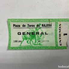 Tauromaquia: ENTRADA DE TOROS. PLAZA DE TOROS DE NAJERA - LA RIOJA. 1966.VER FOTOS. Lote 271541848