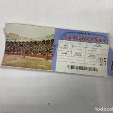 Tauromaquia: ENTRADA DE TOROS. PLAZA DE TOROS DE LOGROÑO. SEPTIEMBRE DE 1996.VER FOTOS. Lote 271542368