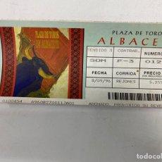 Tauromaquia: ENTRADA DE TOROS. PLAZA DE TOROS DE LOGROÑO. SEPTIEMBRE DE 1996.VER FOTOS. Lote 271542548