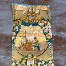 Tauromaquia: CARTEL PLAZA TOROS BILBAO 1916. Lote 271678258