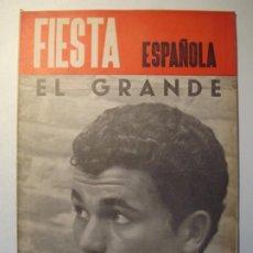 Tauromaquia: REVISTA FIESTA ESPAÑOLA AÑO IV - NÚMERO 219 - AGOSTO 1965 - JOSÉ RIVERA RIVERITA. Lote 271683893