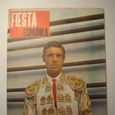 Tauromaquia: REVISTA FIESTA ESPAÑOLA AÑO V - NÚMERO 271 - AGOSTO 1966. Lote 271687818