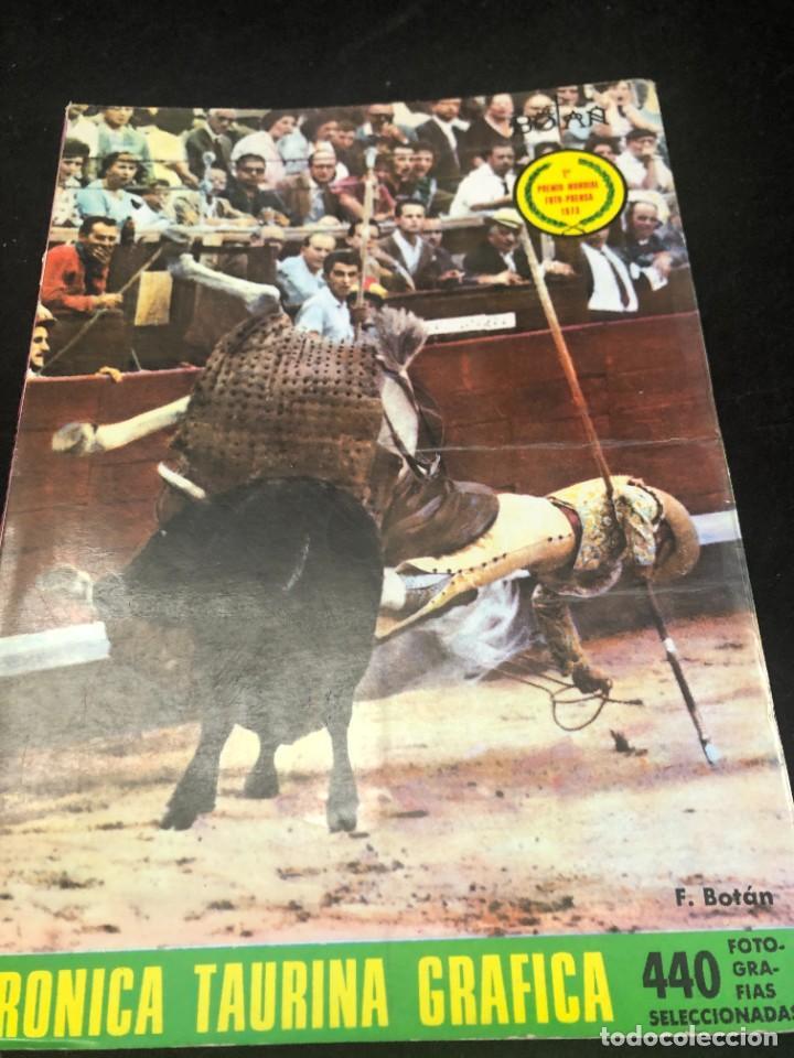 CRONICA TAURINA GRAFICA. 1974. FERNANDO BOTÁN. 440 FOTOGRAFÍAS. VOLUMEN VII (Coleccionismo - Tauromaquia)