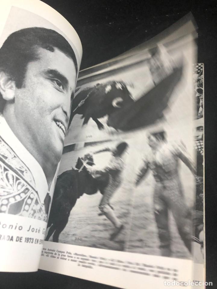 Tauromaquia: CRONICA TAURINA GRAFICA. 1974. FERNANDO BOTÁN. 440 FOTOGRAFÍAS. VOLUMEN VII - Foto 6 - 271780583