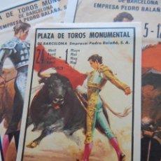 Tauromaquia: 3 / PLAZA DE TOROS MONUMENTAL DE BARCELONA 1983 / ANTOÑETE - PACO OJEDA - YIYO - MORENITO DE JAÉN.... Lote 273148183