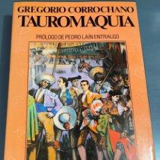 Tauromaquia: TAUROMAQUIA - GREGORIO CORROCHANO - COLECCIÓN LA TAUROMAQUIA Nº 19 - ESPASA CALPE ¡BUEN ESTADO!. Lote 276161548