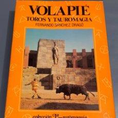 Tauromaquia: VOLAPIÉ - TOROS Y TAUROMAGIA - COLECCIÓN LA TAUROMAQUIA Nº 8 - ESPASA CALPE ¡BUEN ESTADO!. Lote 276203213