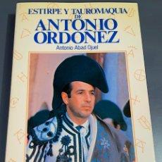 Tauromaquia: ANTONIO ORDOÑEZ - COLECCIÓN LA TAUROMAQUIA Nº 6 - ESPASA CALPE ¡BUEN ESTADO!. Lote 276203393