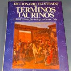 Tauromaquia: DICCIONARIO TÉRMINOS TAURINOS - COLECCIÓN LA TAUROMAQUIA Nº 4 - ESPASA CALPE ¡BUEN ESTADO!. Lote 276203583