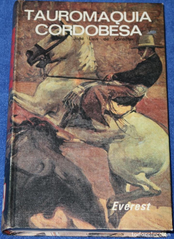 TAUROMAQUIA CORDOBESA - JOSE LUIS DE CÓRDOBA - EVEREST (1978) (Coleccionismo - Tauromaquia)