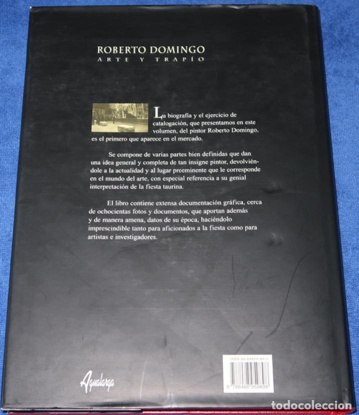 Tauromaquia: Roberto Domingo - Arte y Trapío - Maria Dolores Agusti Guerrero - Agualarga (1998) - Foto 13 - 277203668