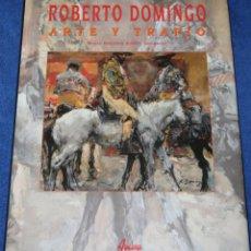 Tauromaquia: ROBERTO DOMINGO - ARTE Y TRAPÍO - MARIA DOLORES AGUSTI GUERRERO - AGUALARGA (1998). Lote 277203668