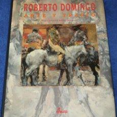 Tauromaquia: ROBERTO DOMINGO - ARTE Y TRAPÍO - MARIA DOLORES AGUSTI GUERRERO - AGUALARGA (1998). Lote 277203678