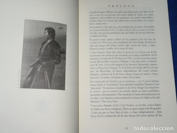 Tauromaquia: Diario de un Paulista - Siguiendo a Rafael - Joaquin Albaicin - Detursa (1995) ¡Impecable! - Foto 4 - 278427603