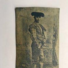 Tauromaquia: TAUROMAQUIA CROMOLITOGRAFÍA. RAFAEL GONZALEZ MADRID, MACHAQUITO (H.1900?). Lote 278532453