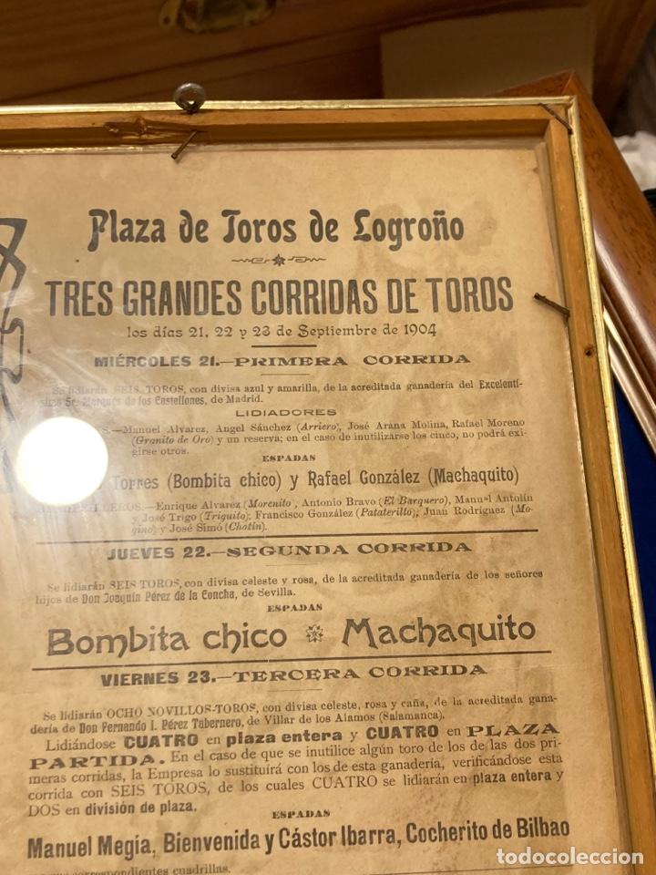 Tauromaquia: Magnifico cartel antiguo de toros - Foto 12 - 288053533