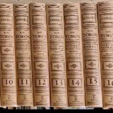 Tauromaquia: EL COSSÍO. LOS TOROS. 20 VOLÚMENES - A-TO-1707. Lote 288987303