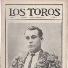 Tauromaquia: REVISTA TAURINA LOS TOROS. Nº 32. MADRID, 16 DE DICIEMBRE DE 1909. Lote 289560708