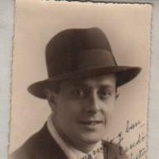 Tauromaquia: AUTOGRAFO DEL TORERO DE CACERES ANTONIO CARRICHES PEREZ 1935. Lote 293797348