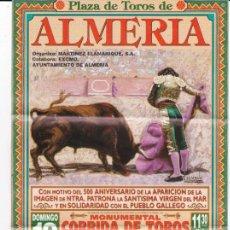 Tauromaquia: PLAZA DE TOROS DE ALMERIA-19 DE ENERO DE 2003. Lote 293963438
