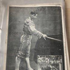 Tauromaquia: CORRIDAS DE FERIA EN PAMPLONA. SAN FERMÍN DE 1914. REVISTA SOL Y SOMBRA, Nº 962. Lote 294557903