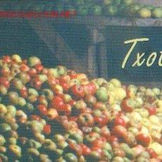 Coleccionismo de vinos y licores: SIDRA - TXOTX!. Lote 292870