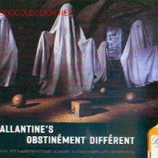 Coleccionismo de vinos y licores: BALLANTINE'S - OBSTINADAMENTE DIFERENTE. Lote 1081408