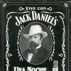 Coleccionismo de vinos y licores: POSTAL DE PROPAGANDA DE JACK DANIEL'S. Lote 6315999