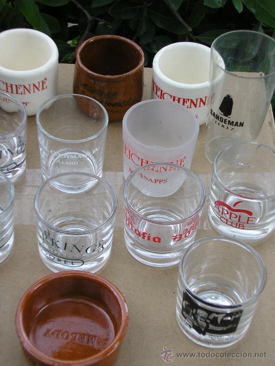 Coleccionismo de vinos y licores: 25 VASITOS DE CHUPITOS - Foto 2 - 149446548