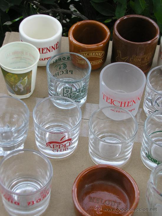 Coleccionismo de vinos y licores: 25 VASITOS DE CHUPITOS - Foto 3 - 149446548