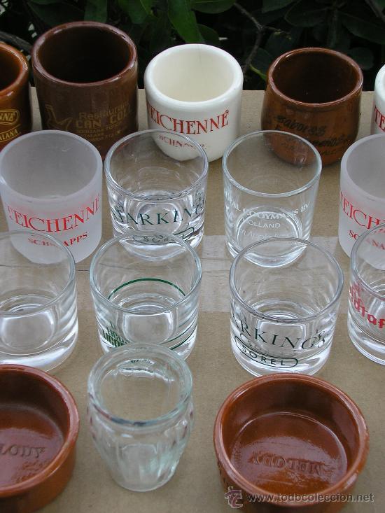 Coleccionismo de vinos y licores: 25 VASITOS DE CHUPITOS - Foto 4 - 149446548