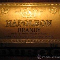 Coleccionismo de vinos y licores: ETIQUETA NAPOLEON BRANDY. Lote 13165641