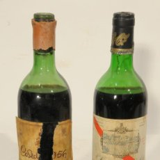 Collectionnisme de vins et liqueurs: LOTE DE 2 BOTELLAS DE VINO. LALANNE 1966 (SAN MARCOS, BARBASTRO) Y PATERNINA 1956 (NO COMERCIALIZADA. Lote 104970652