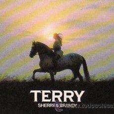 Coleccionismo de vinos y licores: TERRY, SHERRY & BRANDY, POSTAL. Lote 15392437