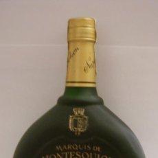 Coleccionismo de vinos y licores: BOTELLA DE ARMAGNAC MARQUIS DE MONTESQUIOU. NAPOLEON. FRANCIA.. Lote 15692570