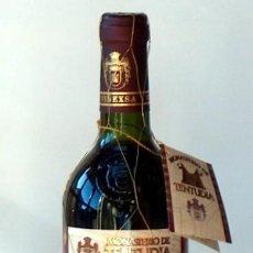 Coleccionismo de vinos y licores: VINO MONASTERIO DE TENTUDIA COSECHA 1997 X ANIVERSARIO ENTREGA BANDERA UNIDAD LOGISTICA Nº 23 CEUTA. Lote 150774882